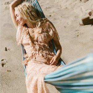 Doen Antoinette Dress in Adobe Tea Floral